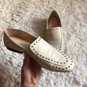 Sole Society studded loafers